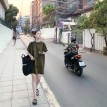 韩系纯色宽松休闲T恤