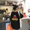 ELMO卡通印图宽松T恤