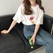韩版卡通印图T恤