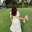 【预购】泡泡袖甜美气质鱼尾连身裙