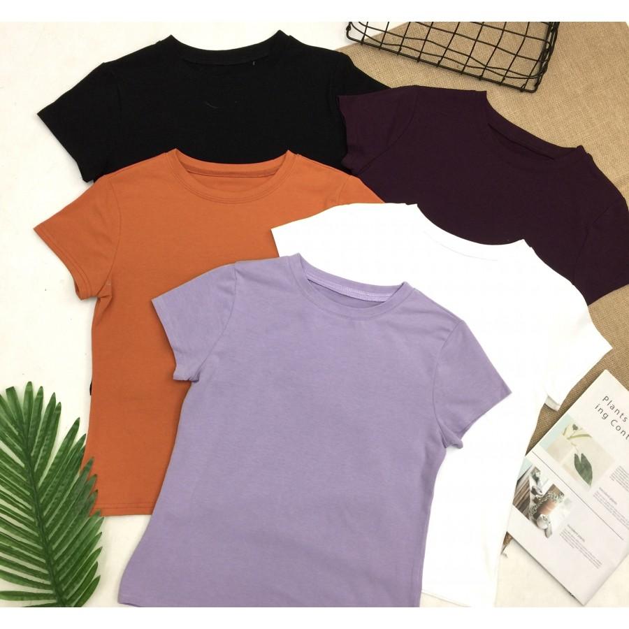 【预购】纯色圆领短袖T恤